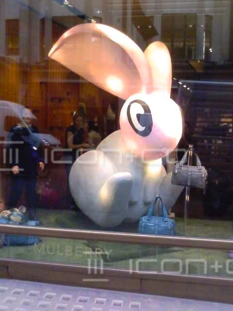 giant polystyrene rabbit props, easter bunny, sculpt sculptor, 3d artists, propmakers, poly foam