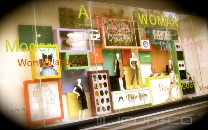 window displays, window scheme design, retail display
