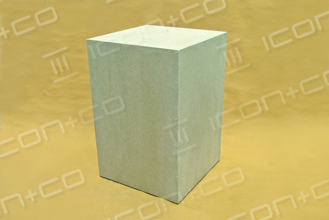 MDF display podiums & risers, plinth / podium mannequin base, wooden timber box, untreated raw mdf,