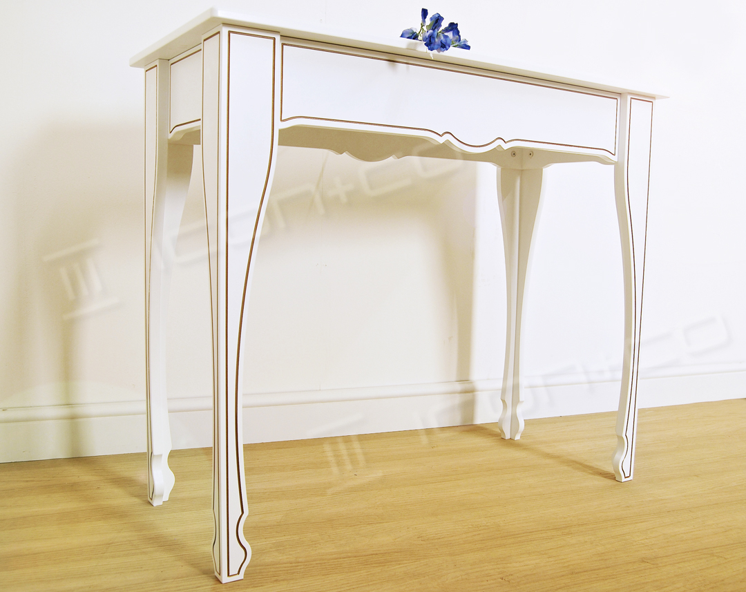 console table decorative feature table living room hallway display tables