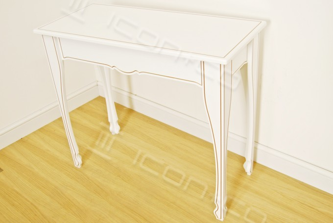 console decorative feature table living room hallway display tables