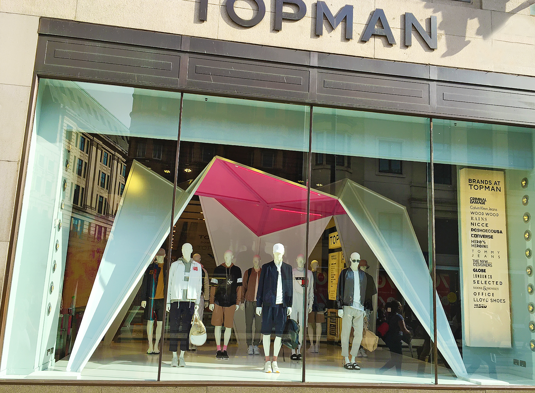 Stores will be unable to provide a refund for these items. The Topman returns policy states that returns may be conducted by post or, if in the UK, by store. Topman stores outside of the UK are currently unable to process refunds of exchanges.