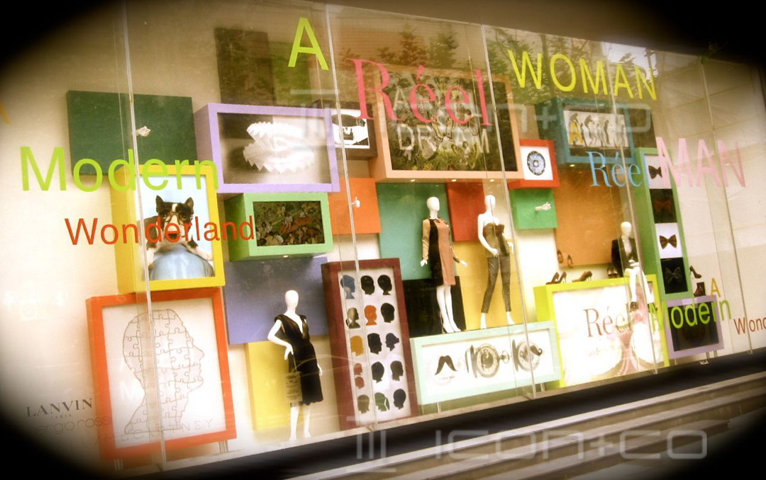 window displays, window scheme design,