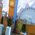animated retail display props, moving window schemes