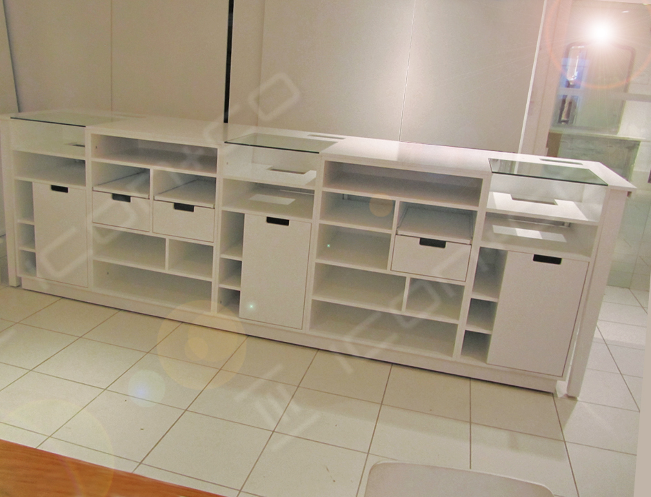 Carpentry & joinery Wales, till units, cashier, cash desk units,carpenters & joiners, display manufacturers