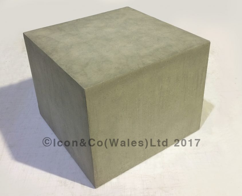 wedding decor fake concrete stone riser display box plinth hand painted paint effects retail display props
