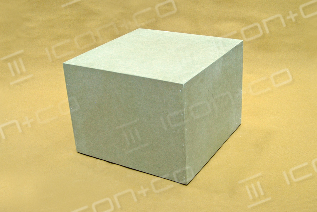 mannequin base, plinth / podium wooden timber cube box, untreated raw mdf, storage record 12' vinyl box