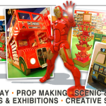 Film props, display artists, props for tv, retail display props manufacturers prop making scenic theatrical museums exhibitions creative services, children's bedrooms