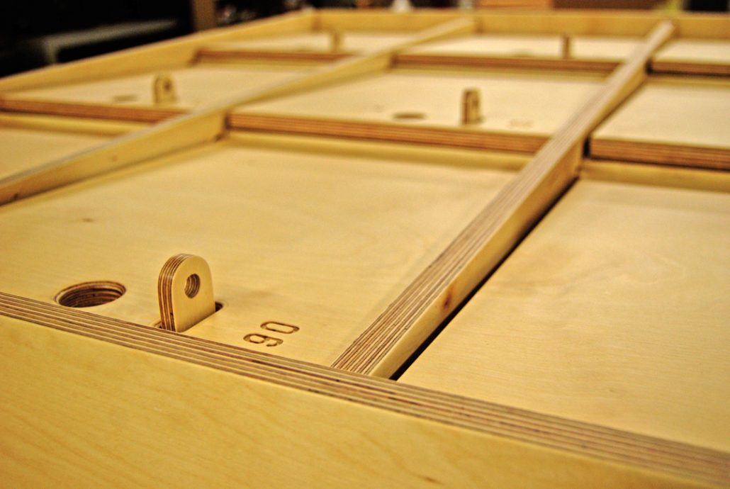 cnc cutting services south wales, Opendesk South West England Wales, plywood ply furniture manufacturers display products
