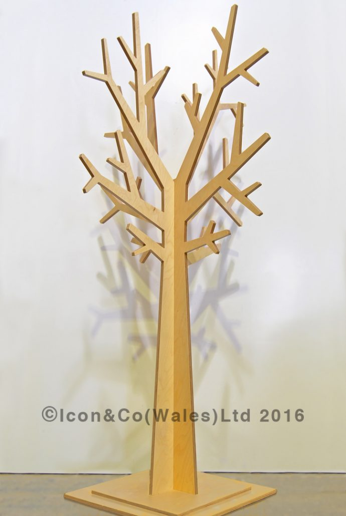 Mdf Display Tree Props Retail Vm Furniture Trees Plinths